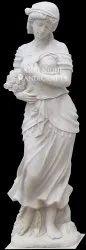 White Marble Women Statue
