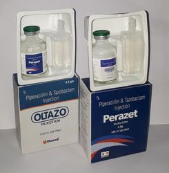 Piperacillin 4 Gm Tazobactum 0.5 Gm Injections