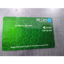 Preprinted Chip Plastic Card