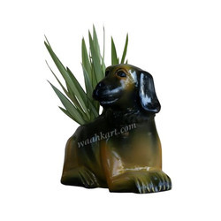 Animal Plant Pot In Lying Down Position