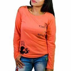Gallus Ladies Full Sleeves T Shirt