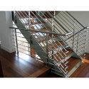 SS Multi Line Stair Case Railing