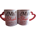 Ceramic Couple Sublimation Mug, Usage: Home, Office