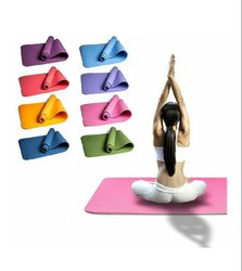 Unisex Trancy Yoga PVC Mat, Thickness: 6 mm
