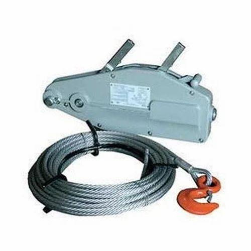 Wire Rope Pulling Machine, wire hoist - S.M.S. Global, Kolkata | ID ...