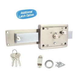 Harrison Godown Lock Khatka 6L SS Computerized Key