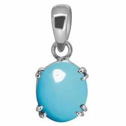 Firoja Pendant Silver Gemstone