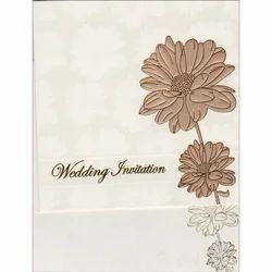 Paper Muslim Wedding Invitation Card