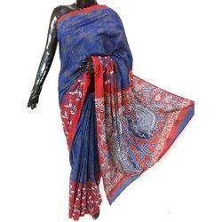 Printed Casual Wear Cotton Vichitrapuri Saree