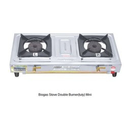 Biogas Stove Double Burner Mini (KVIC Type)