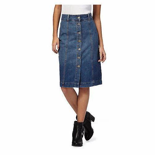 Girls Denim Skirt At Rs 550 Piece Sitapuri New Delhi Id