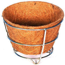 Conical 6 Inch Coir Pot