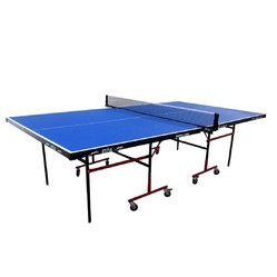 Table Tennis Table Stag Family Rollaway