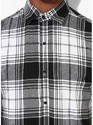 Mens Sleeveless Checks Shirt