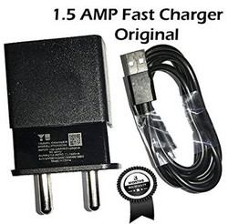1.5 Amp Fast Charger With USB Data Cable