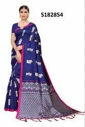 Fancy Silk Saree for Daily Wear