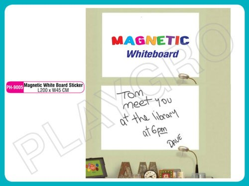 Magnetic White Marker Board Sticker