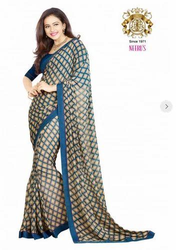84ad3e7f19da7c Silk Sarees - Neerus Rust Color Banaras Silk Saree Ecommerce Shop   Online  Business from Hyderabad