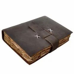 Leather Journal With Deckle Edge Paper