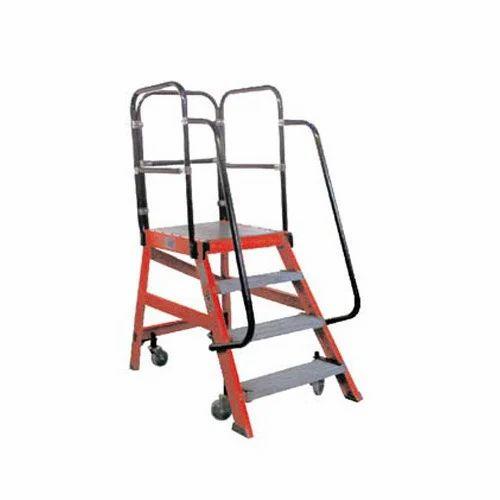 Mobile Platform Ladder Fiberglass Ladders Barabazar