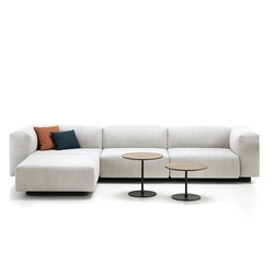 5 Seater Solid Wood L Shaped Modular Sofa