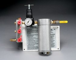 3M Compressed Air Filter and Regulator Panel W-2806