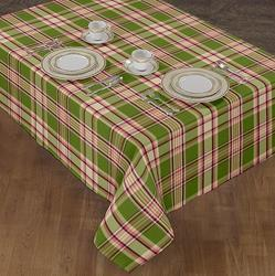 Woven Yarn Dyed Table Cover