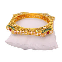 Gold Finish Bangles