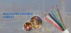 4 Sq.mm X 4 Core - Sanflex Multicore Stranded Flexible Round Cables