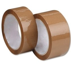 Brown BOPP Adhesive Tape, Packaging Type: Roll, Thickness: 30-50 Microns