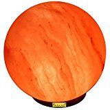Allin Himalayan Rock Salt Best Glowing Hand Carved Globe
