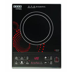 Usha CookJoy 3616 1600-Watt Induction Cooktop Black
