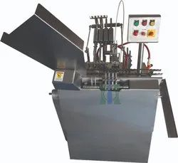 Automatic Two Head Onion Skin Tube Filling And Sealing Machine