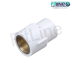 UPVC and Brass Female Threaded Adaptor, Size: 2 inch