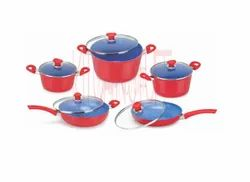 Cookware Set - 10 Pcs . Small Groove