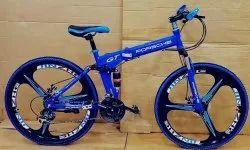 Porsche Blue Foldable Cycle