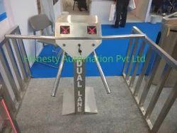 Stainless Steel Tripod Turnstile Gate