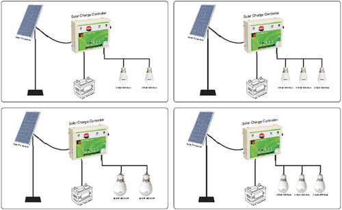 Solar home lighting system rave energy wholesaler in okhla phase solar home lighting system ccuart Image collections