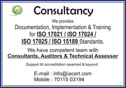 ISO/IEC 17021:2015 Consultancy Services
