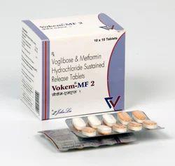 Voglibose 0.2/0.3 Mg Metformin 500 Mg Tablets