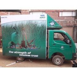 Commercial Mobile Van Brand Promotion Advertising Service