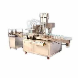 Automatic Oil Filling Capping Machine