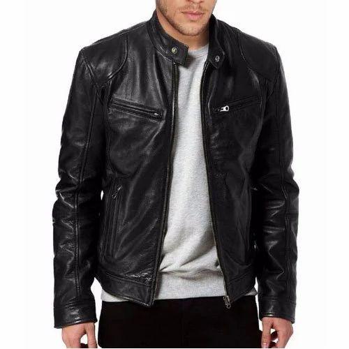 c11d1f2d2 Men Rider Leather Jacket