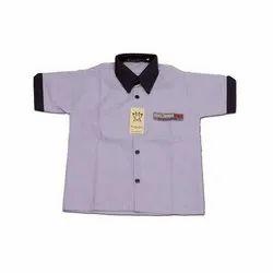 Half Sleeve School Uniform Shirt
