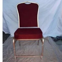 Aluminum Red Banquet Chairs