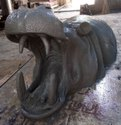 FRP Statue Of Hippopotamus