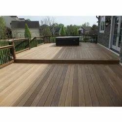 Brown Wood Deck Flooring, for Outdoor