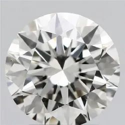 2.07ct Lab Grown Diamond CVD I VS1 Round Brilliant Cut IGI Certified Stone
