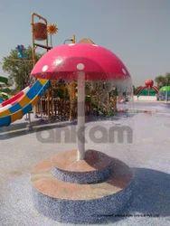Water Park Mushroom Umbrella