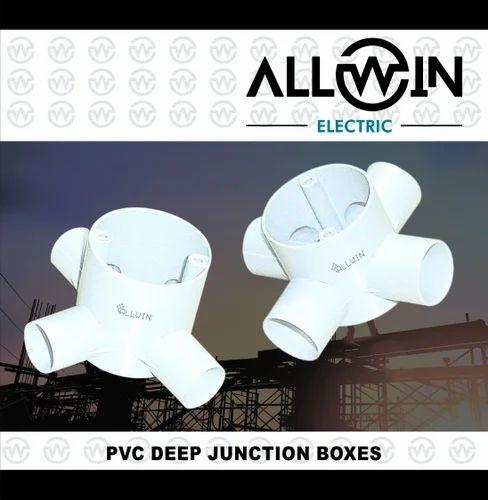 Allwin Electric PVC Deep Junction Box